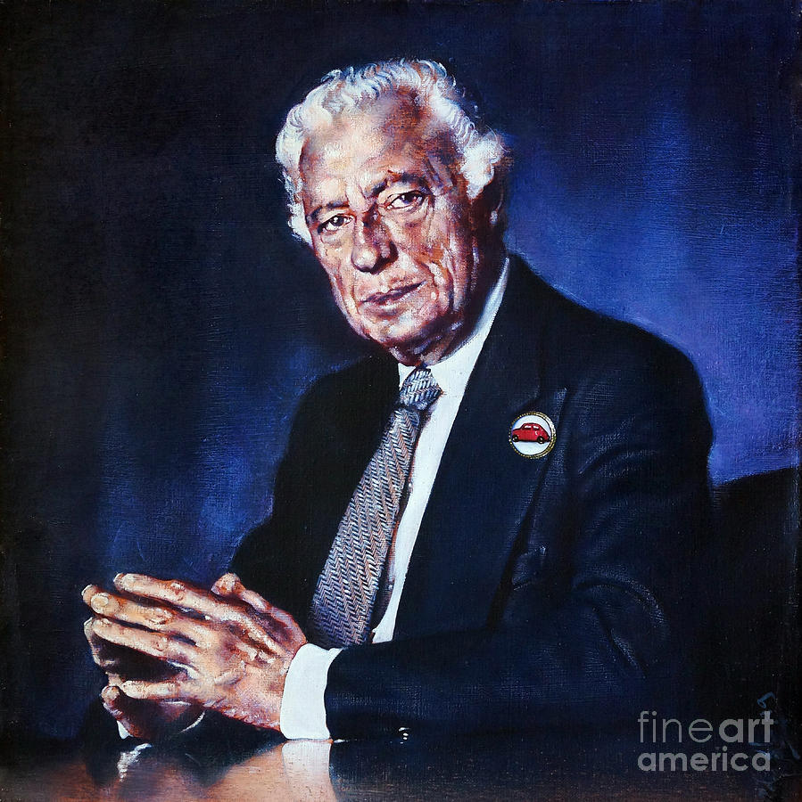 Portrait of Gianni Agnelli by Ritchard Rodriguez