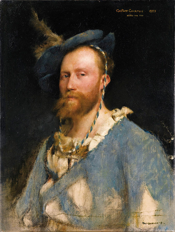 Portrait Of Gustave Courtois Painting by Pascal Adolphe Jean Dagnan-Bouveret