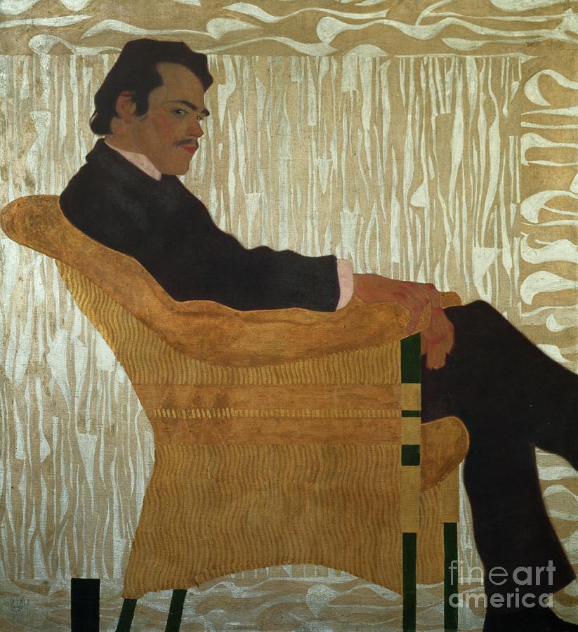 Egon Schiele Painting - Portrait Of Hans Massmann by Egon Schiele