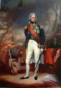 Sir William Beechey Painting - Portrait Of Horatio Viscount Nelson by Shuguang Liu