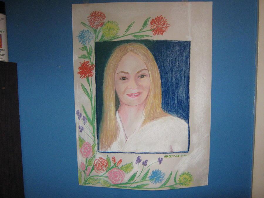 Portrait Painting - Portrait Of Jenny by Geanene Anderson