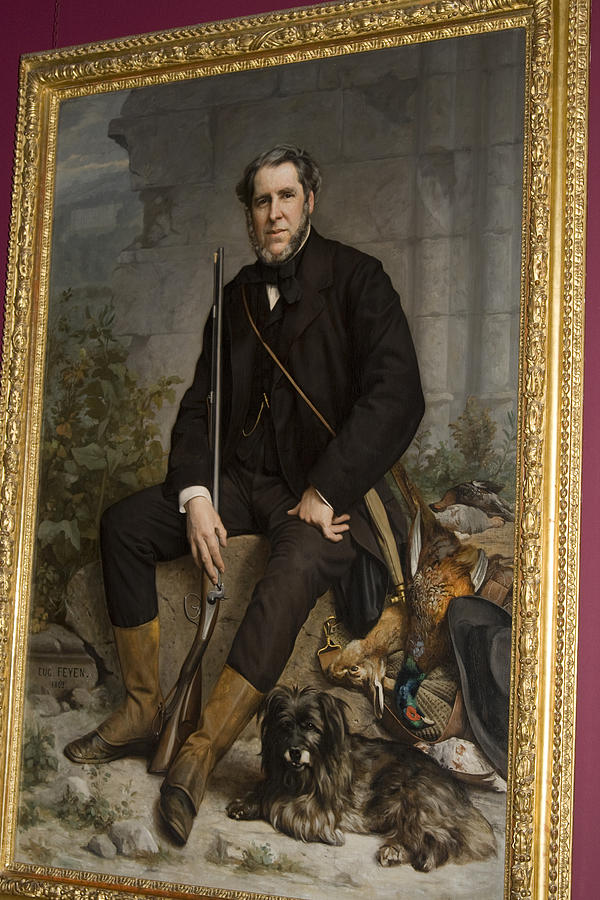 Distinguished Painting - Portrait Of John Bowes by Carl Purcell