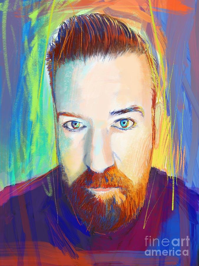 Portrait of John by John Castell