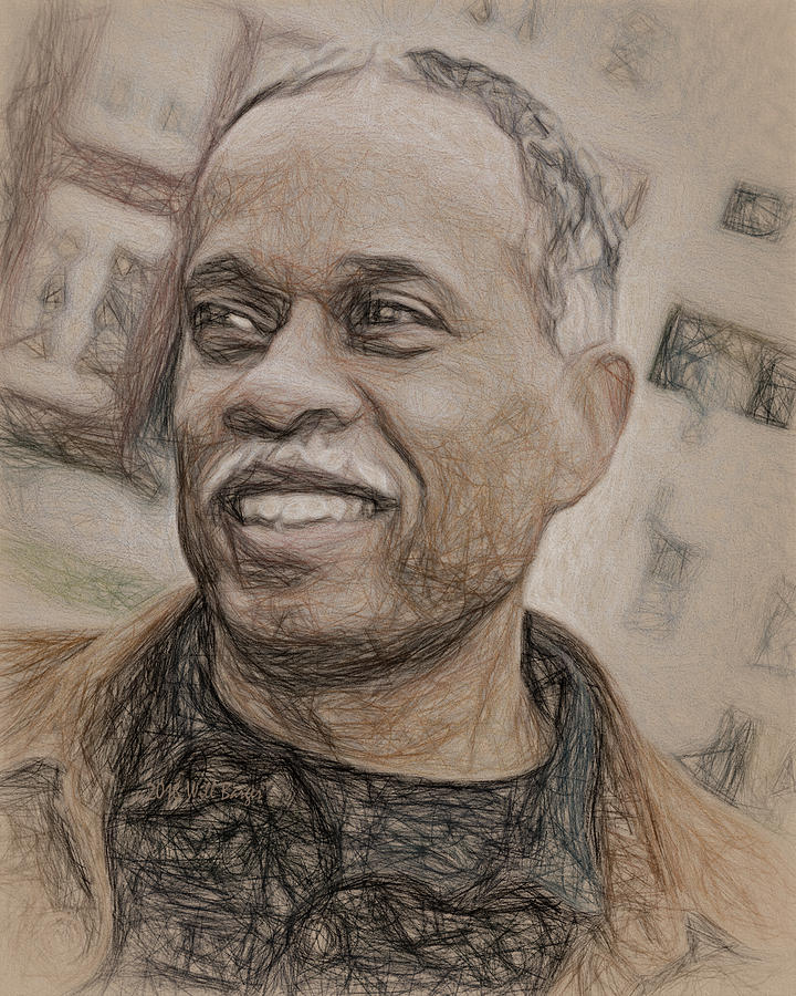 Portrait of Juan Williams, Nbr. 04 by Will Barger