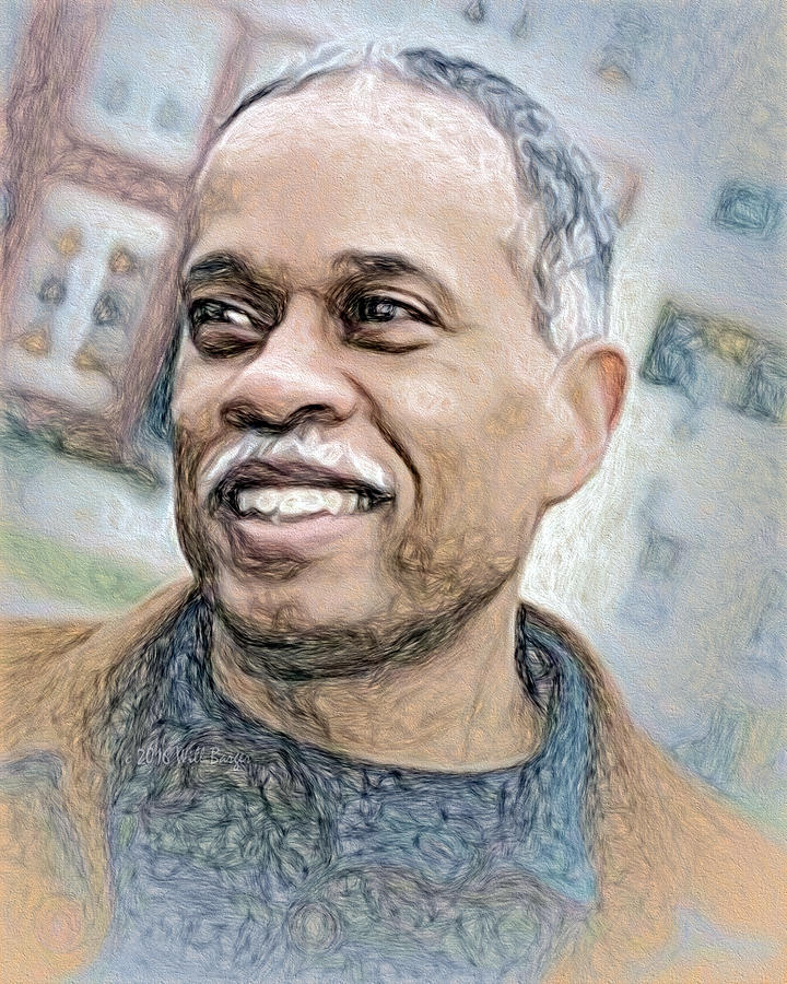Portrait of Juan Williams, Nbr. 05 by Will Barger