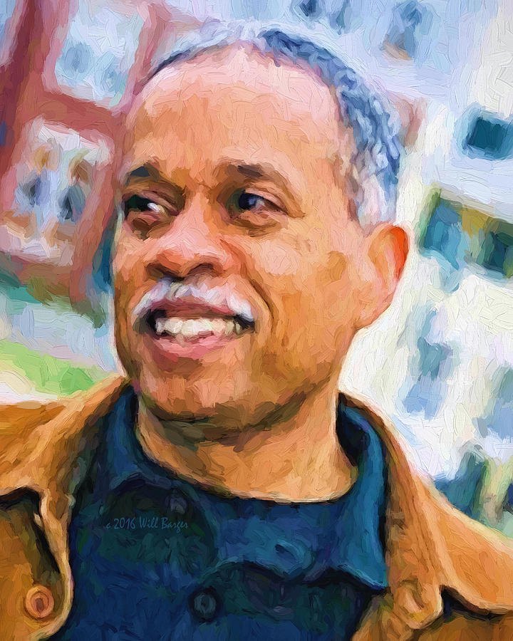 Portrait of Juan Williams, Nbr. 34 by Will Barger