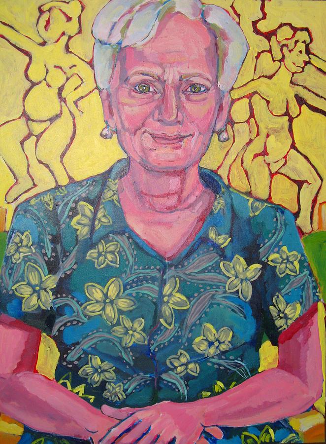 Portrait Painting - Portrait Of Judy by Doris  Lane Grey