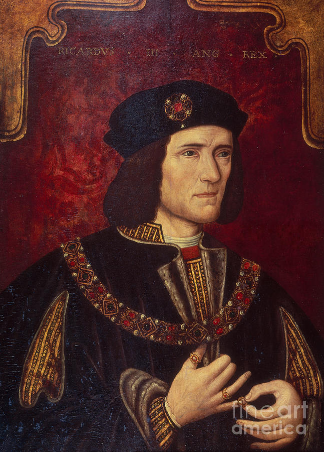 Portrait Painting - Portrait Of King Richard IIi by English School