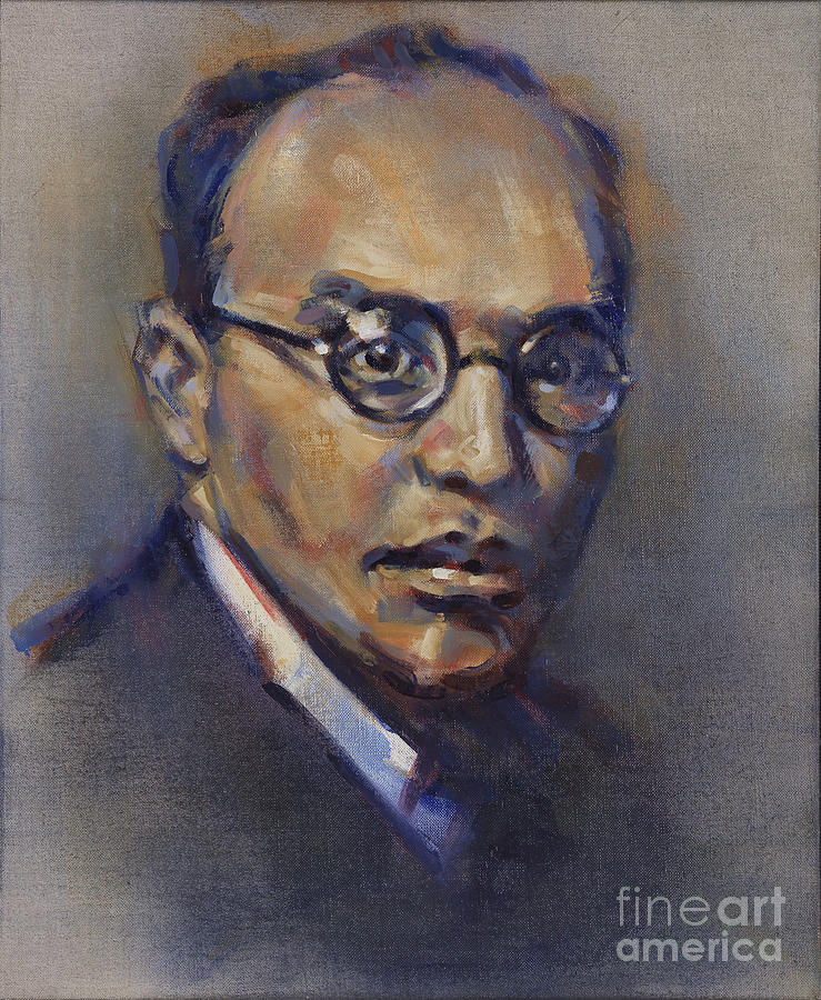 Portrait of Kurt Weill by Ritchard Rodriguez