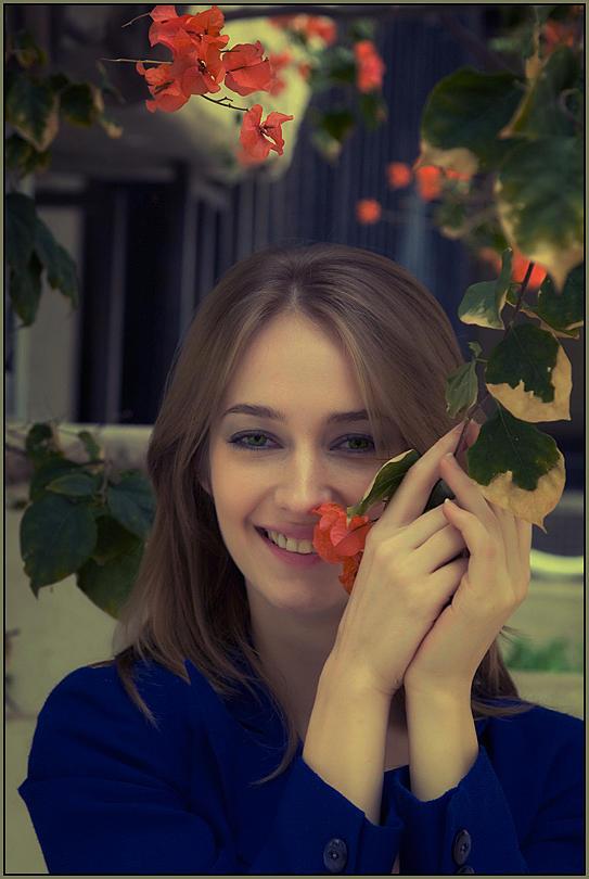 Photographer Photograph - Portrait Of Liliana by Alexander Tolchinskiy