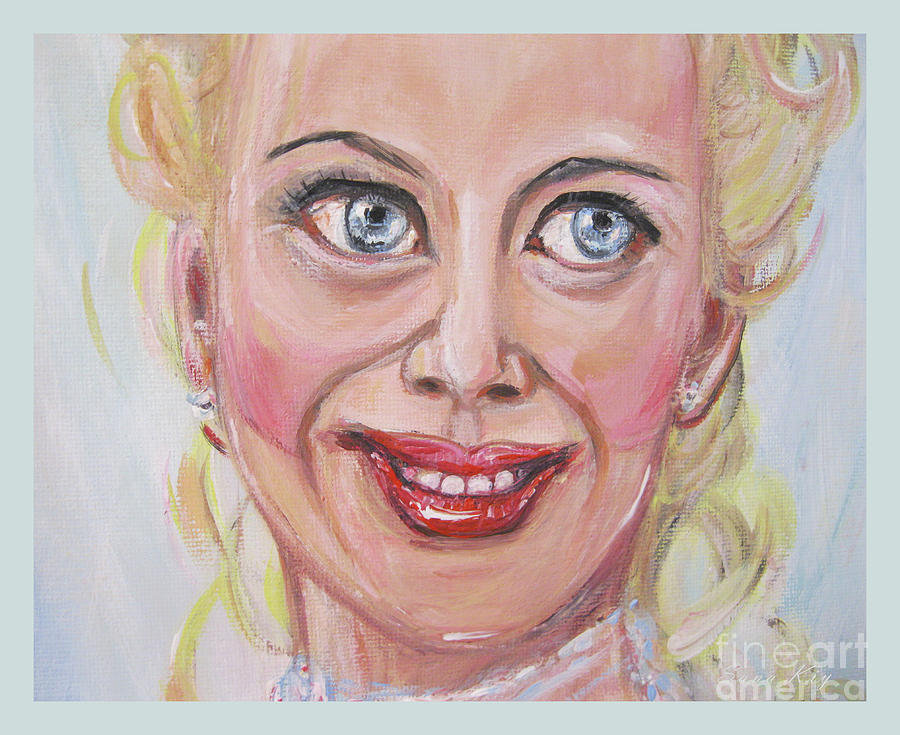 Portrait of Nicole Kidman. Painting The Best Actress by Oksana Semenchenko