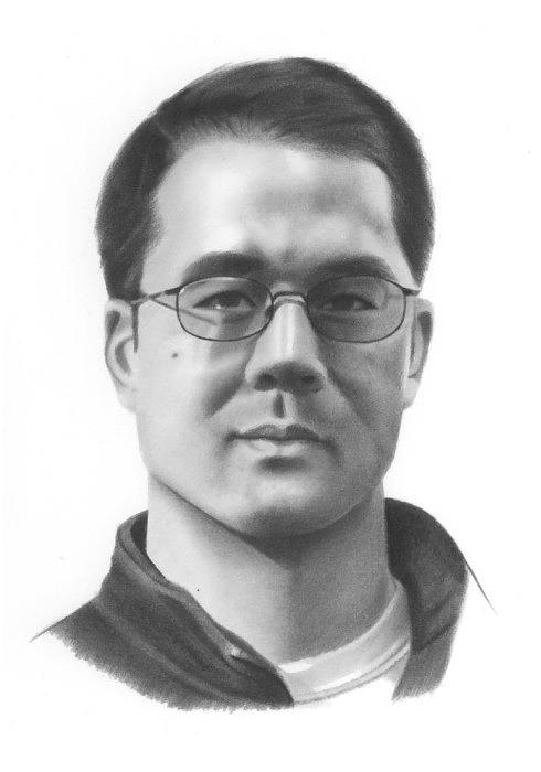 Pencil Drawing Drawing - Portrait Of Peter by Brian Duey