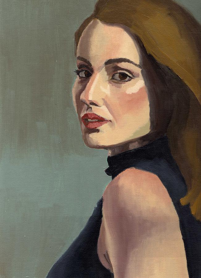 Portrait of Rachel Christine by Stephen Panoushek