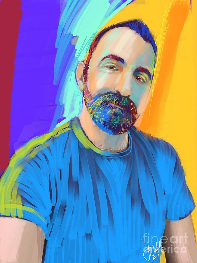Portrait of Randy by John Castell