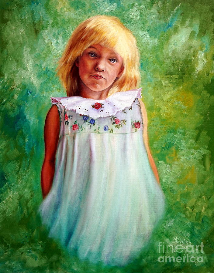 Portrait of Sara by Georgia's Art Brush