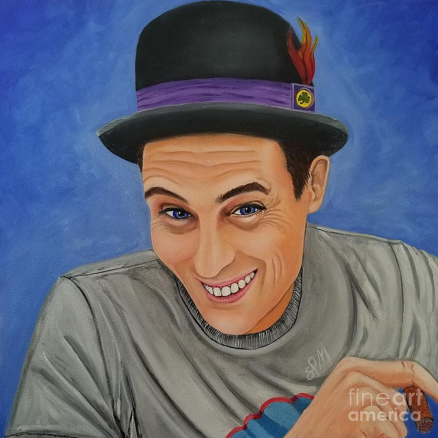Portrait Painting - Portrait Of Shawn Davis Mooney  by Shawn Christopher Mooney