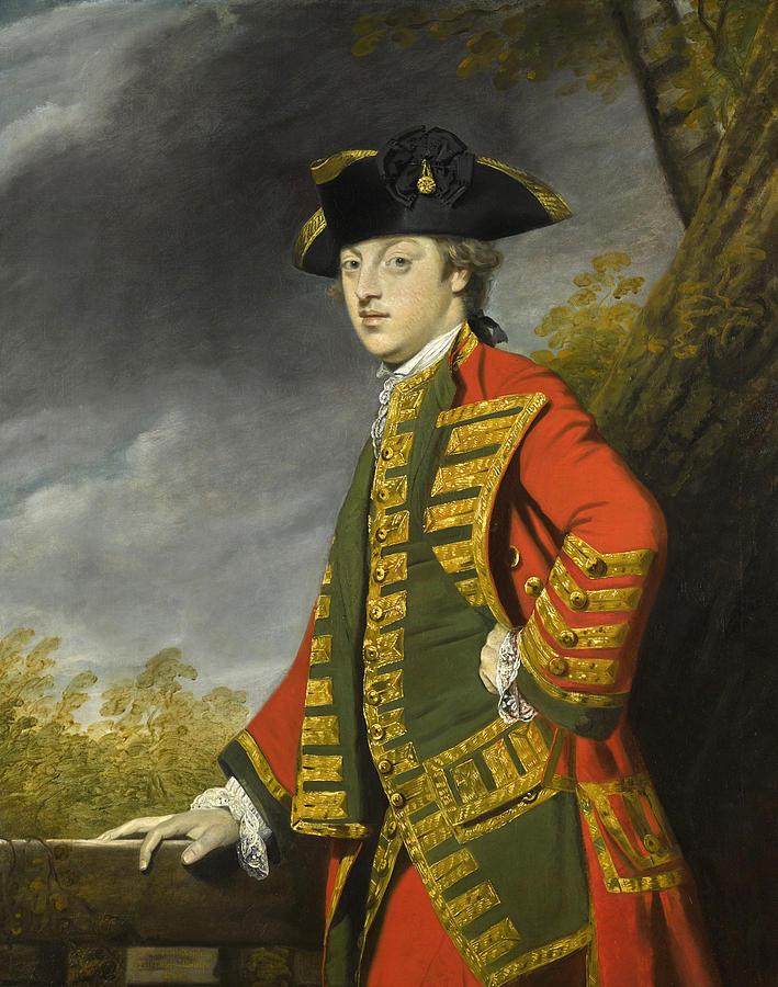 Dorset Painting - Portrait Of Sir Gerard Napier by Joshua Reynolds