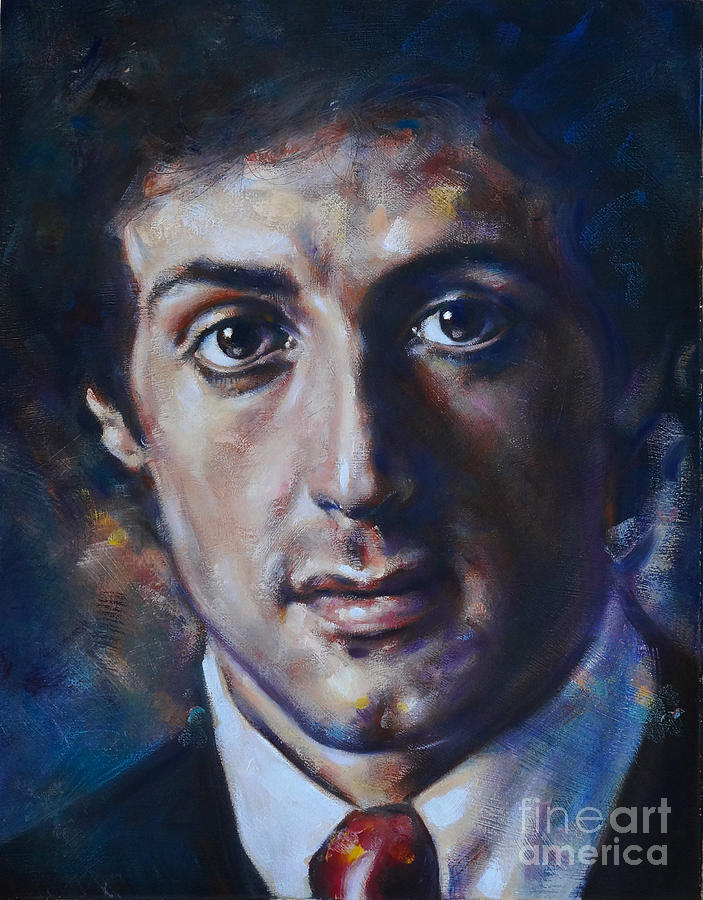 Portrait of Sylvester Stallone by Ritchard Rodriguez