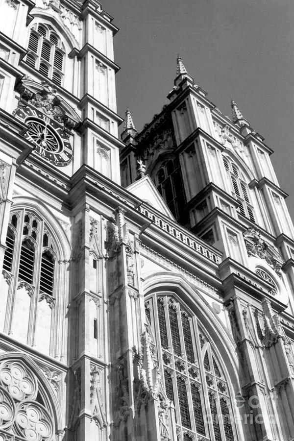 Portrait Of Westminster Abbey Photograph