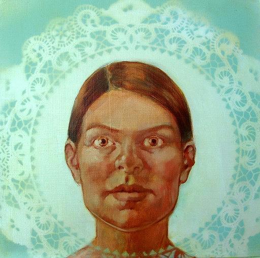 Portrait Painting - Portrait Study by Rachel Aponte