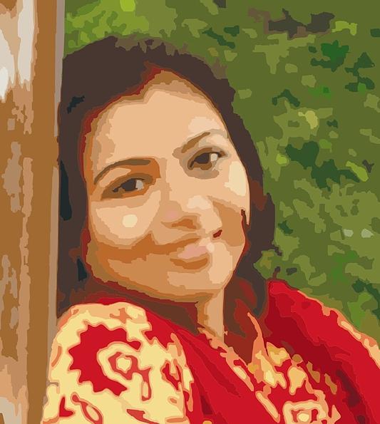Portrait Digital Art - Portrait by Vasant Dhobley