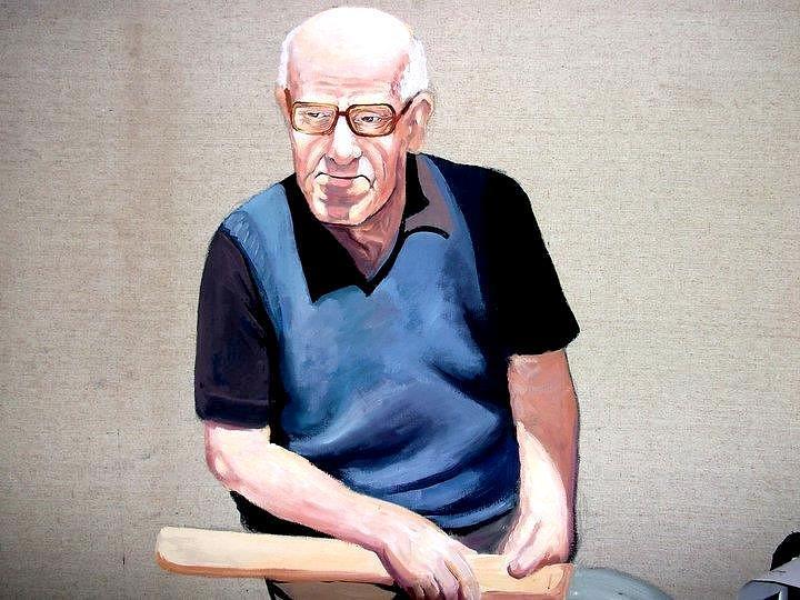 Portrait Painting - Portrait by Zana Rruplli