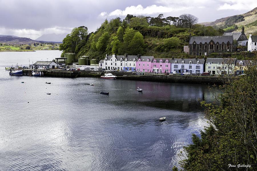 Portree Photograph - Portree Isle Of Skye by Fran Gallogly
