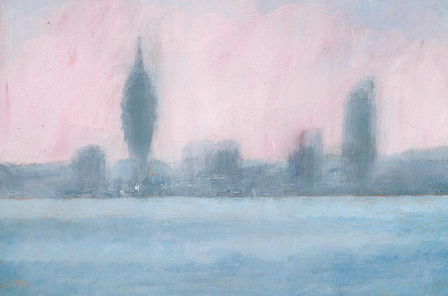 Portsmouth Dawn Part Six Painting by Alan Daysh