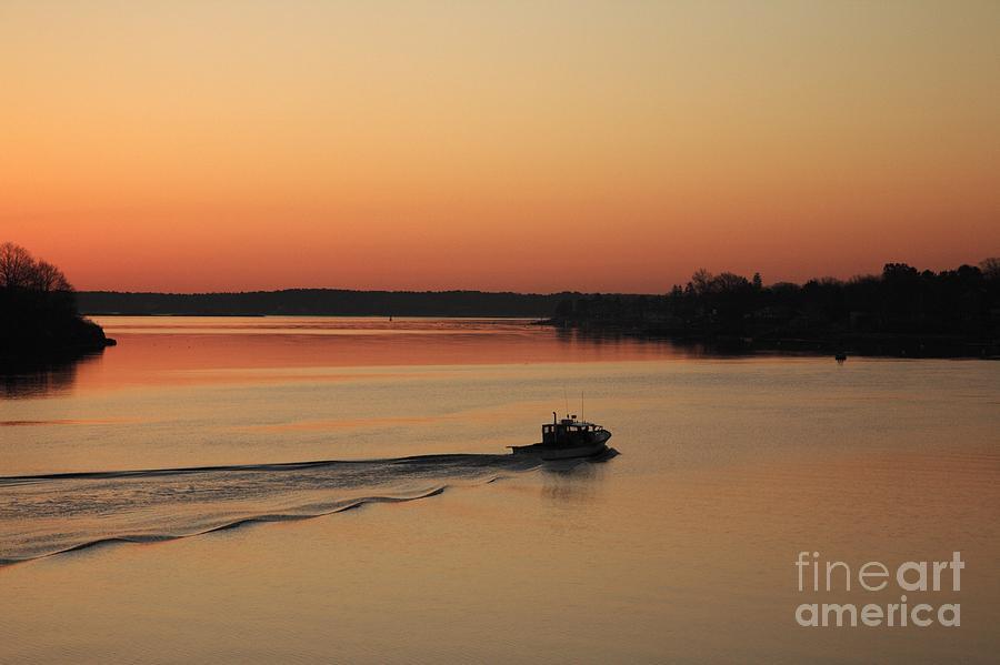 Harbor Photograph - Portsmouth Harbor - Portsmouth New Hamphire Usa by Erin Paul Donovan
