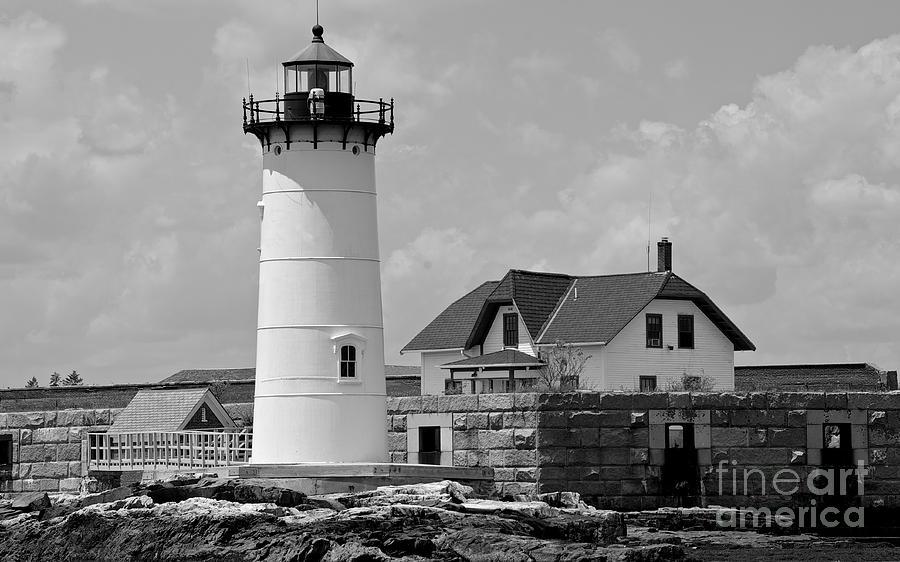 Portsmouth Harbor Lighthouse Photograph