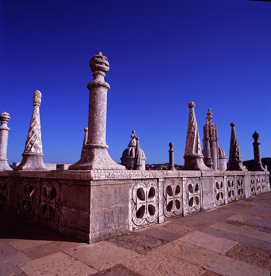 Fortress Photograph - Portuguese Fortress  Lisbon Portugal by Derek Moore