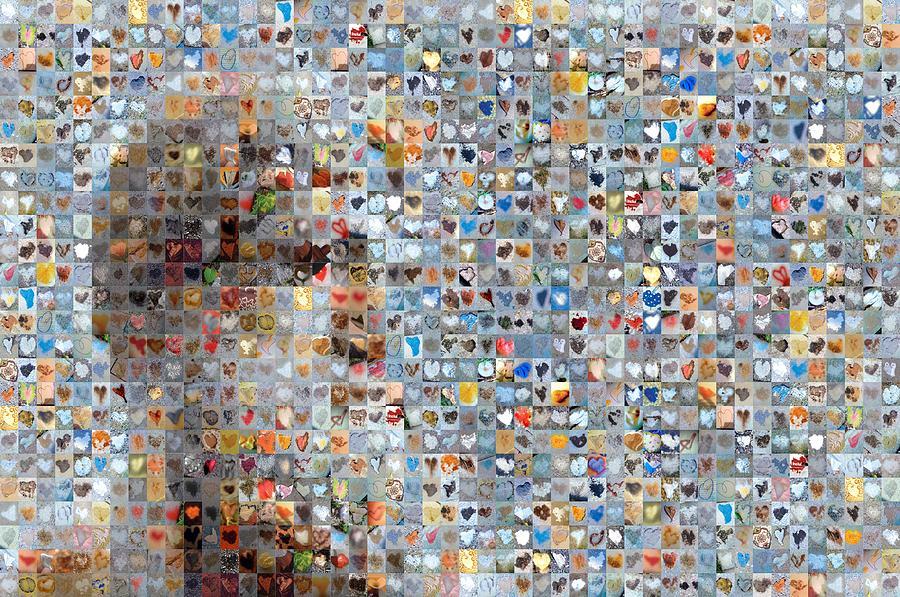 Abstract Hearts Photograph - Poseidon by Boy Sees Hearts