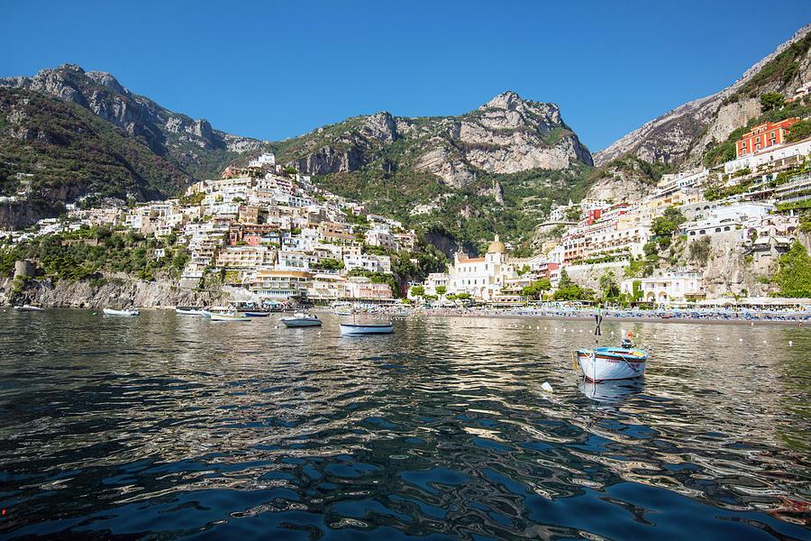 Positano from the Bay by Matt Swinden