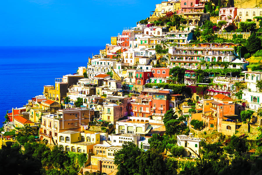 Positano Photograph - Positano by George Harris