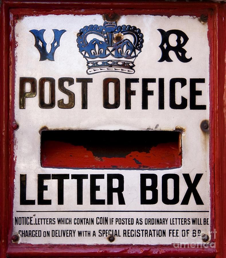 Background Photograph - Post Box by Jane Rix