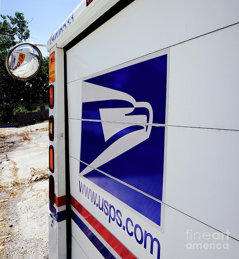 Post Office Truck Photograph