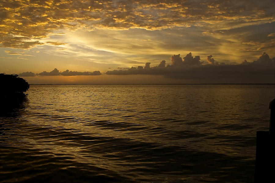 Key Largo Photograph - Post Sunset Bliss by Christin Walton