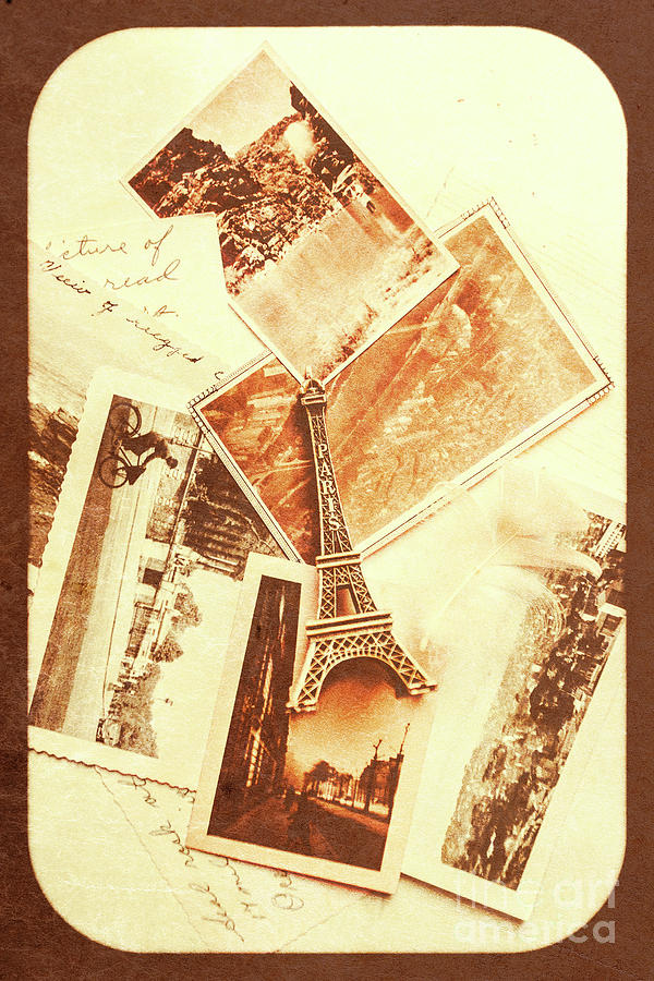 Postcards And Letters From The City Of Love Photograph by Jorgo ...
