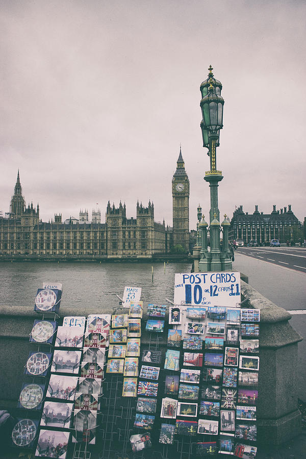 London Photograph - Postcards From Westminster by Martin Newman
