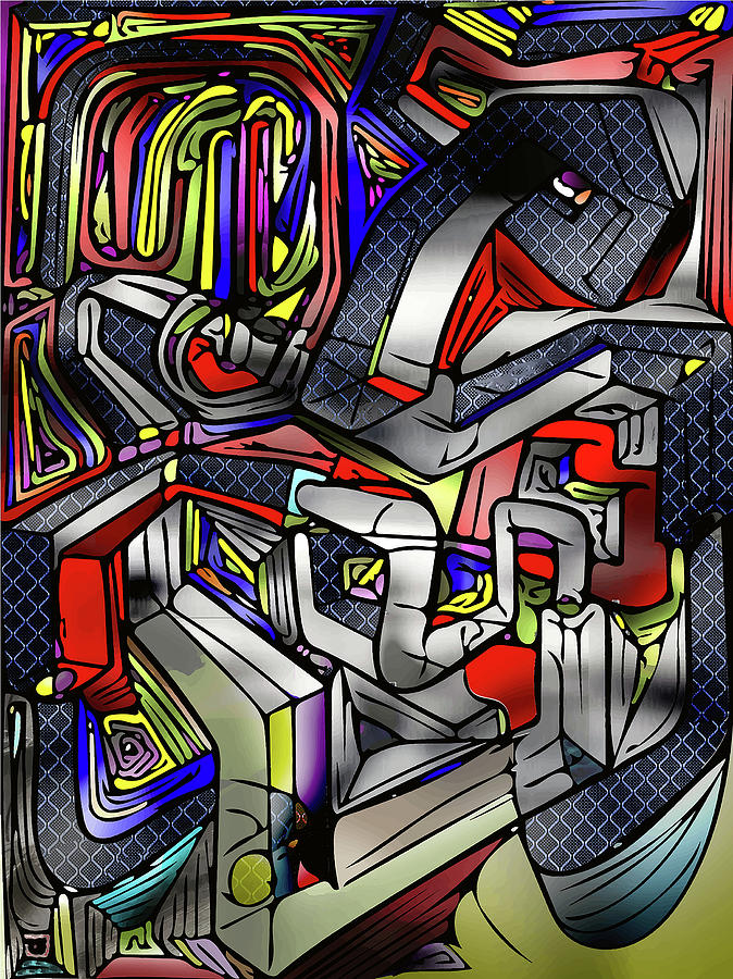 Graphic Design Digital Art - Poster Artwork - Contemporary Design by Poster Book