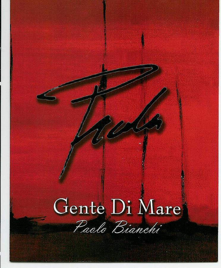 Marine Painting - Poster For Edition - Gente Di Mare  by PAOLO Bianchi