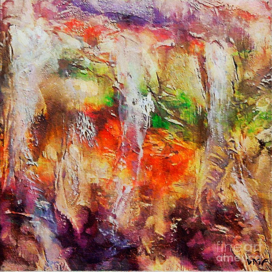 Cave Painting - Postojna Cave by Dragica  Micki Fortuna