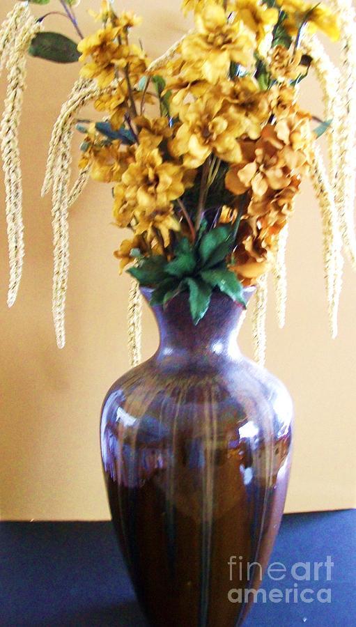 Gold Flowers Photograph - Pot Of Gold by Marsha Heiken