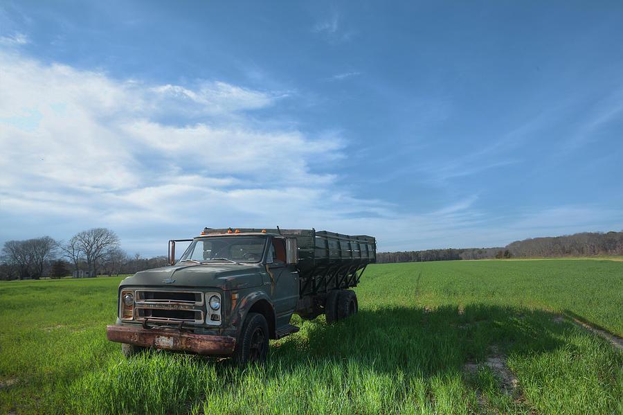 Potato Truck Photograph