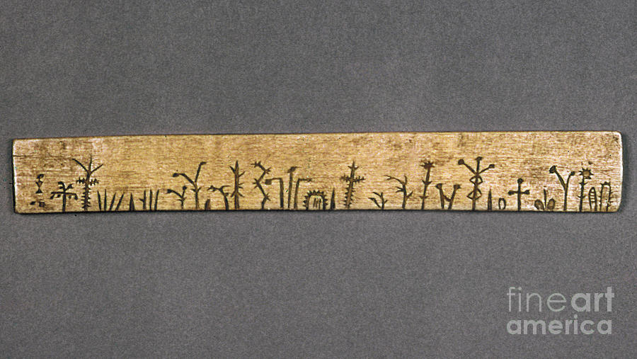 American Photograph - Potawatomi Medicine Stick by Granger