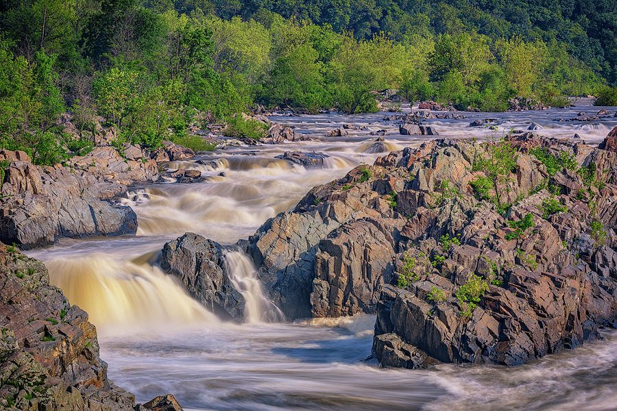 Potomac River At Great Falls Park Photograph
