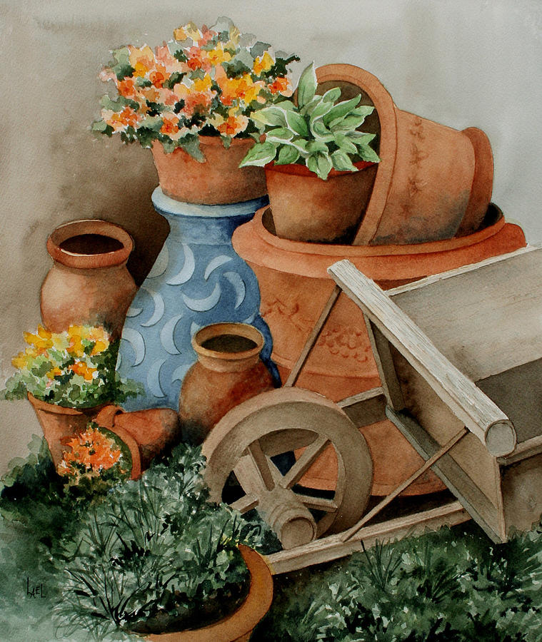 Pots by Lael Rutherford