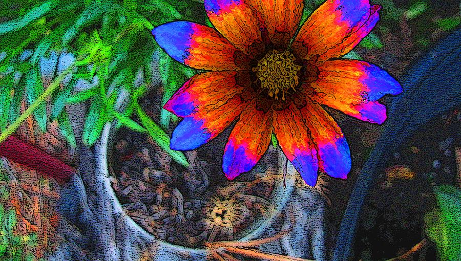 Plants Digital Art - Potted Plant by Morgan Rex