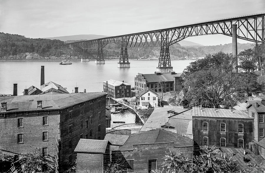 Poughkeepsie Waterfront in 1903 by The Hudson Valley