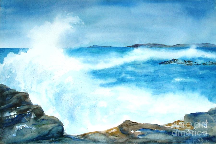 Pounding Surf by Diane Kirk